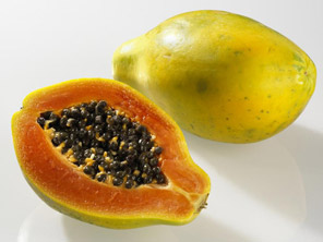 Obstsorten - papaya-b