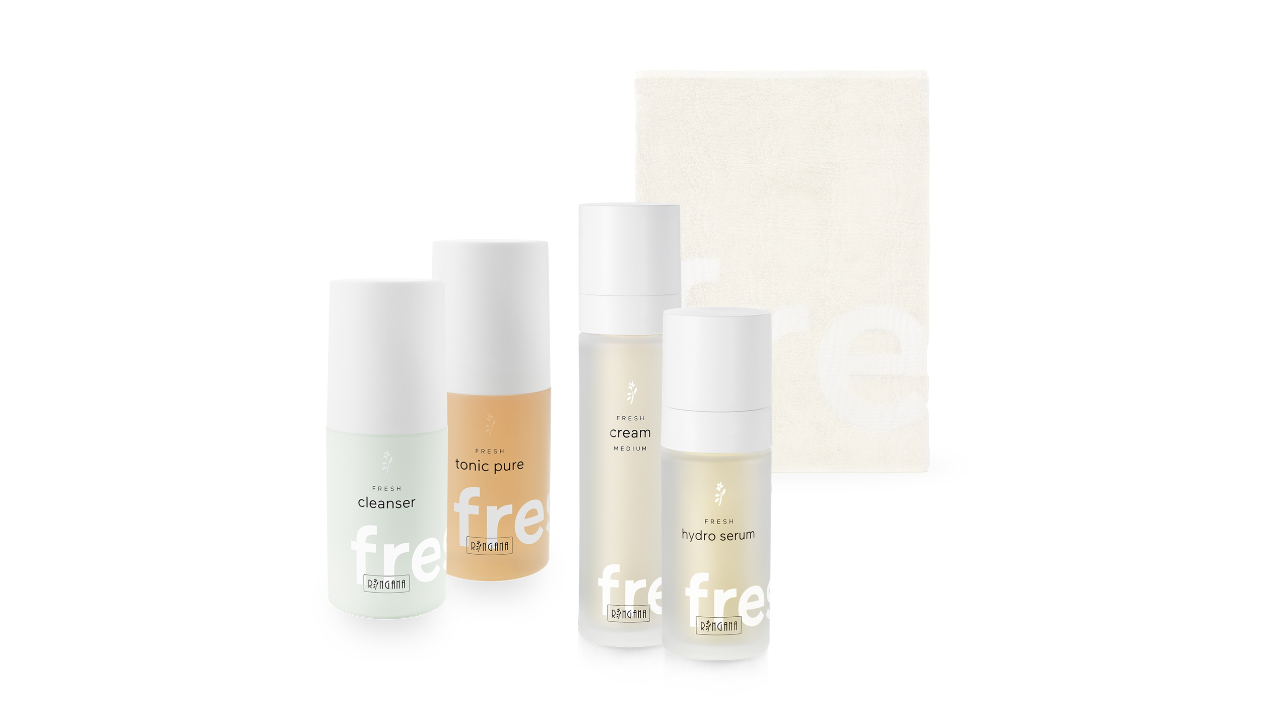 FRESH skin care set von RINGANA