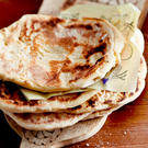 Naan-Brot backen