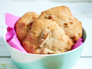 Banana Walnut Cookies