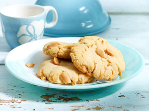 Double Peanut Cookies