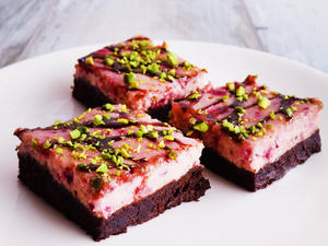 Himbeer-Cheesecake-Brownies