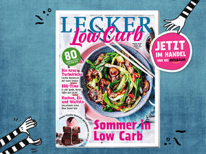LECKER-Sonderheft: Sommer in Low Carb