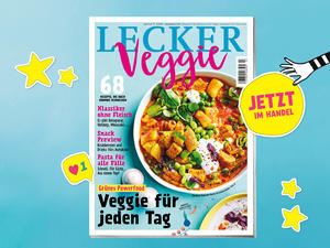 LECKER Veggie: Der perfekte Veggie-Food-Sommer