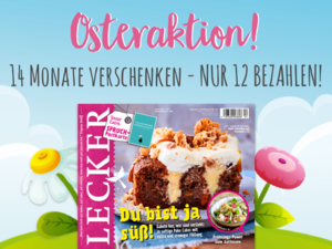LECKER-Abo Osteraktion
