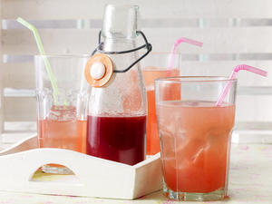 Rhabarber-Sirup - Rezept zum Selbermachen