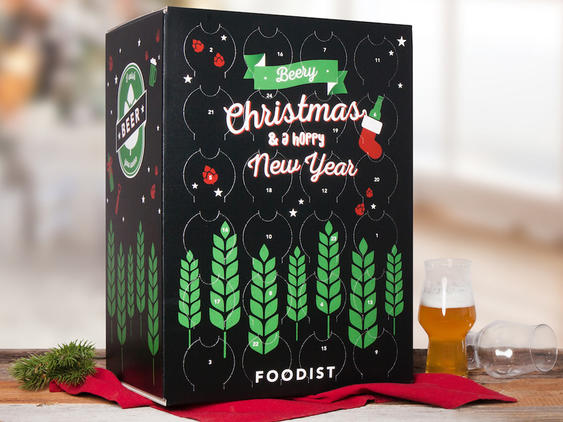 Bier-Adventskalender von Foodist