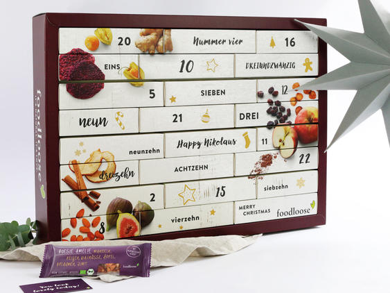 Adventskalender von Foodloose