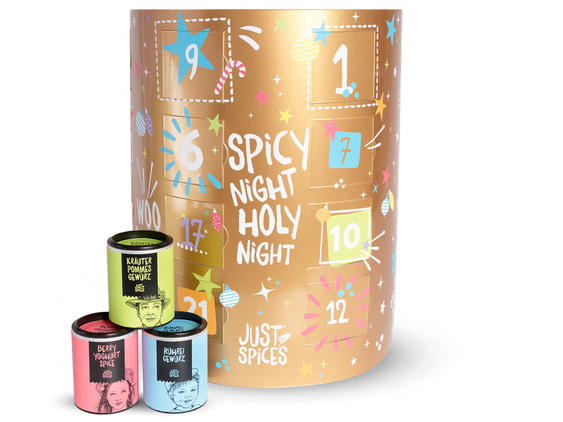 Adventskalender von Just Spices