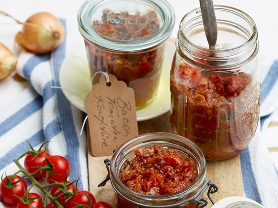 Bacon Jam mit Tomate