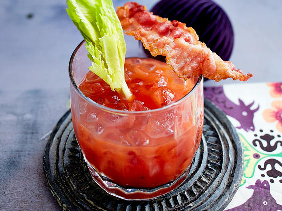 Halloween-Cocktails: BBQ Bloody Mary