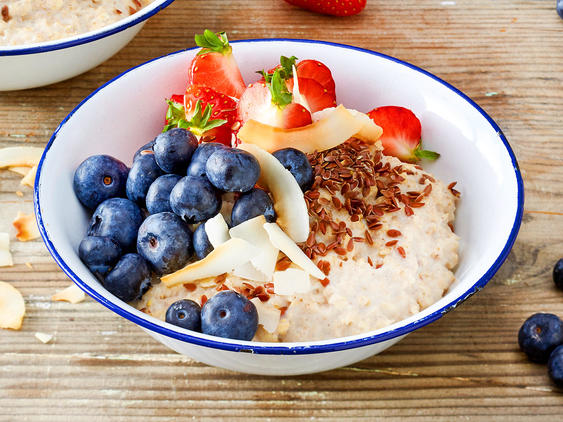 Low Carb-Porridge - so geht's: Low Carb Kokos Porridge