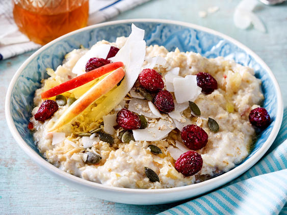 Low Carb-Porridge: Porridge mit Kokosmehl