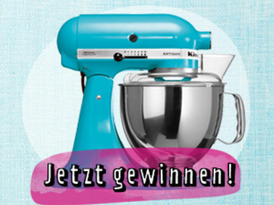 KitchenAid in Kristallblau