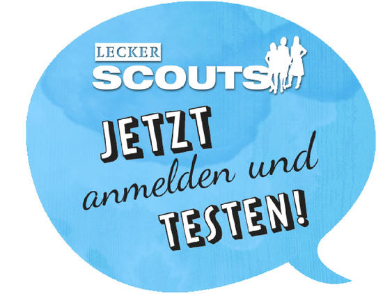 LECKER Scouts - jetzt anmelden und testen!