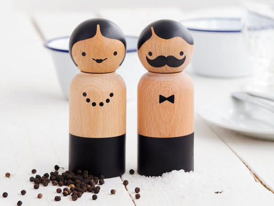 Mr and Mrs Salt and Pepper