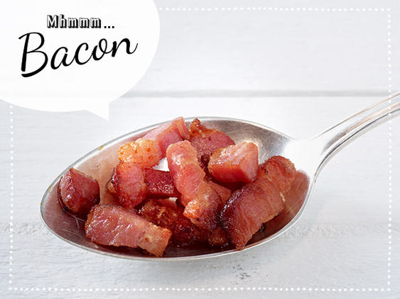 Pancake-Topping Bacon